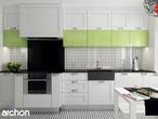 projekt Dom w groszku 4 Aranżacja kuchni 1 widok 1