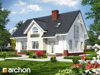 projekt Dom w groszku 4 widok 1