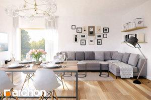 Projekt dom w jablonkach 7  33050 mid