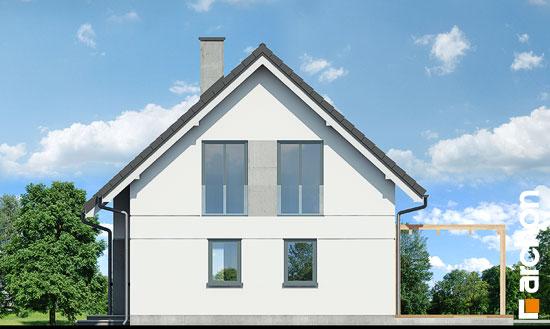 Elewacja boczna projekt dom w zielistkach ver 2  265