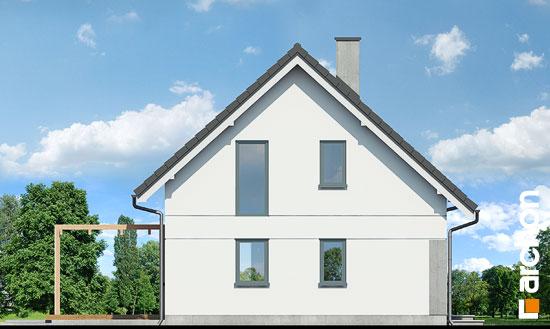 Elewacja boczna projekt dom w zielistkach ver 2  266