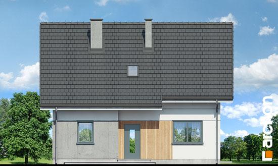 Elewacja frontowa projekt dom w zielistkach ver 2  264