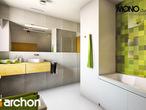projekt Dom w zielistkach Wizualizacja łazienki (wizualizacja 1 widok 1)