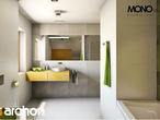 projekt Dom w zielistkach Wizualizacja łazienki (wizualizacja 1 widok 4)
