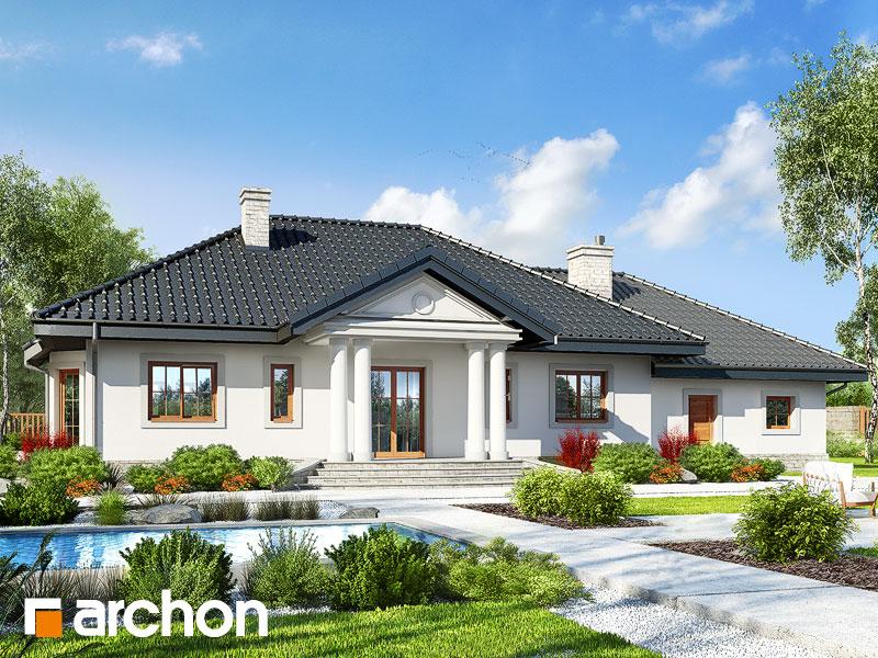 gotowy projekt Dom w gaurach 6 (G2) widok 1