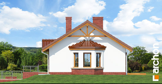 Elewacja boczna projekt dom w jezynach ver 2  265