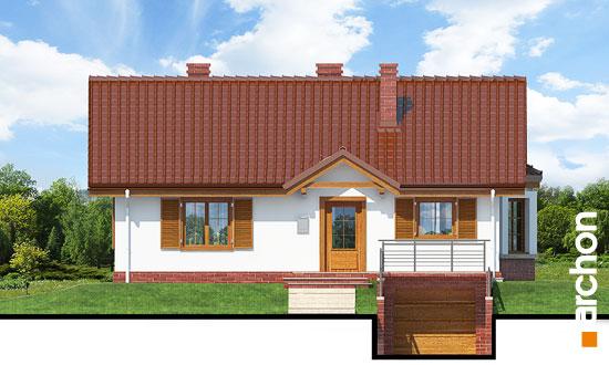 Elewacja frontowa projekt dom w jezynach ver 2  264