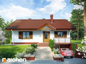 projekt Dom w jeżynach