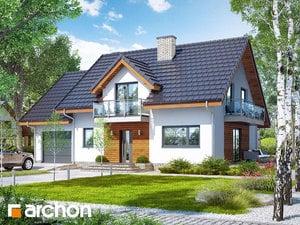 gotowy projekt Dom w czerwonokrzewach