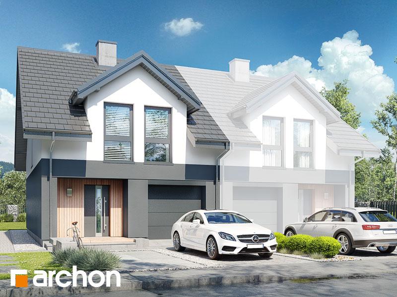 gotowy projekt Dom pod miłorzębem 19 (GB) widok 1