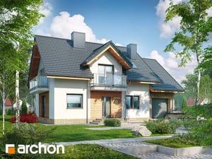gotowy projekt Dom w rododendronach 23