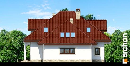 Elewacja boczna projekt dom w jasminowcach ver 2  265