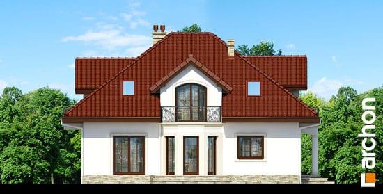 Elewacja boczna projekt dom w jasminowcach ver 2  266