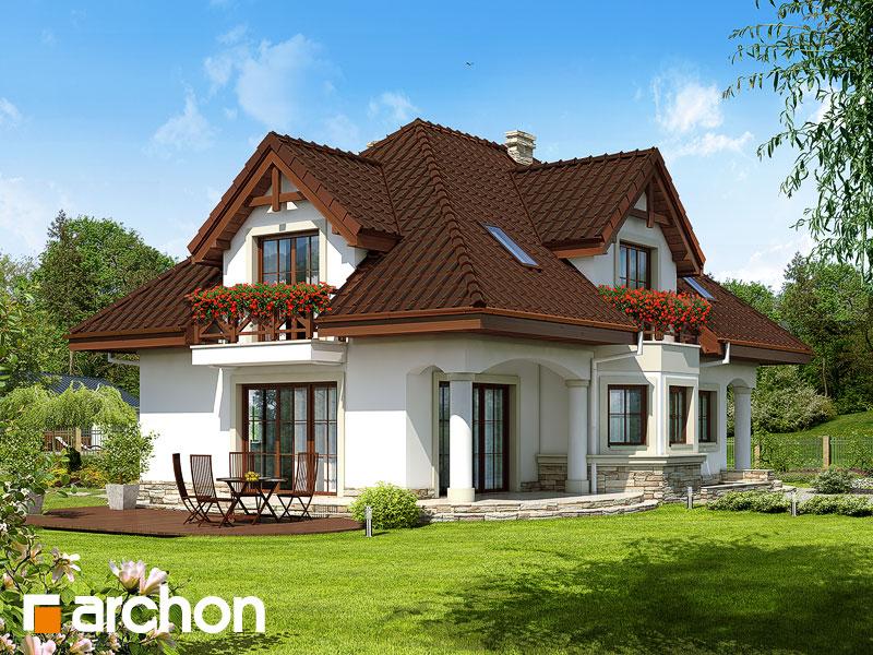 gotowy projekt Dom w majeranku (P) widok 1