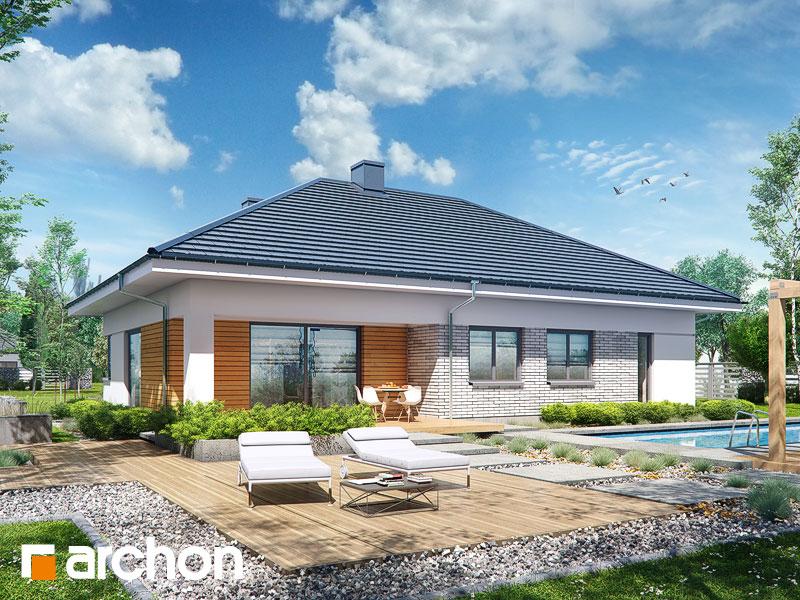 gotowy projekt Dom w turkusach (G2) widok 1