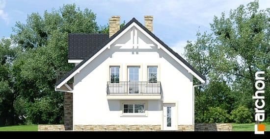 Elewacja boczna projekt dom w rododendronach 14 ver 2  265