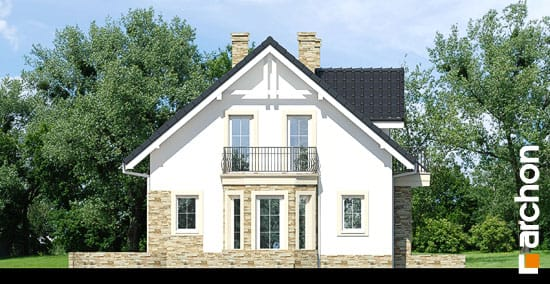 Elewacja boczna projekt dom w rododendronach 14 ver 2  266