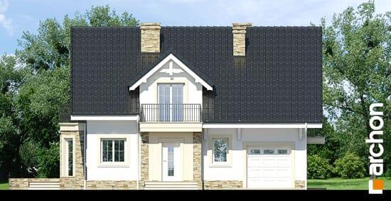 Elewacja frontowa projekt dom w rododendronach 14 ver 2  264