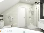projekt Dom w rododendronach 14 Wizualizacja łazienki (wizualizacja 1 widok 2)