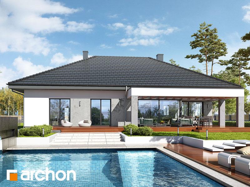 gotowy projekt Dom w przebiśniegach 3 (G2) widok 1