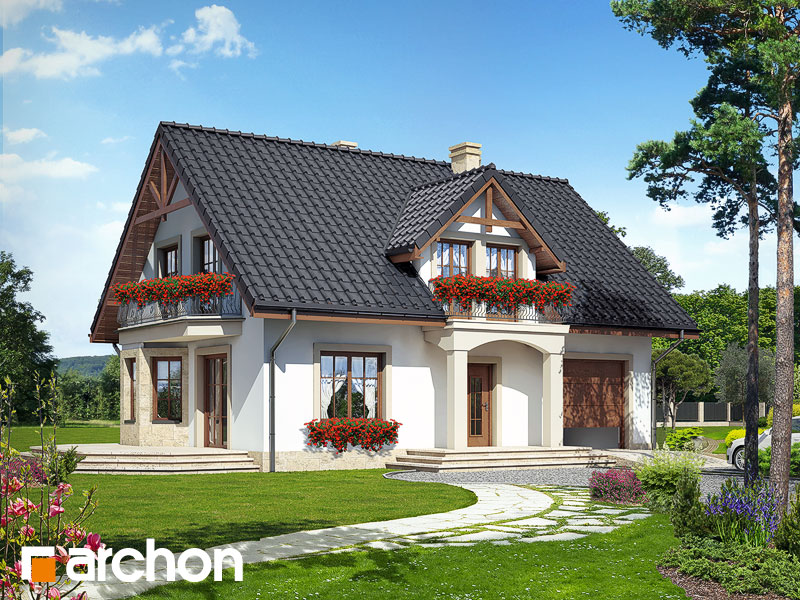 Projekt Domu Dom W Aksamitkach 2 Archon