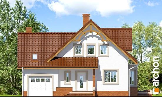 Elewacja frontowa projekt dom w tamaryszkach 2 ver 2  264