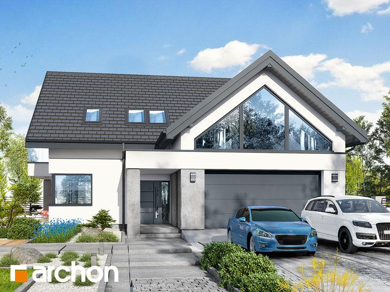 gotowy projekt Dom w telimach (G2E) widok 1