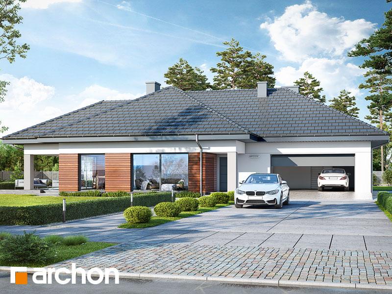 gotowy projekt Dom w lilakach 10 (G2) widok 1