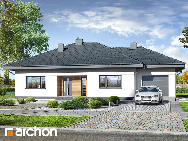 gotowy projekt Dom w santanach (G) widok 1