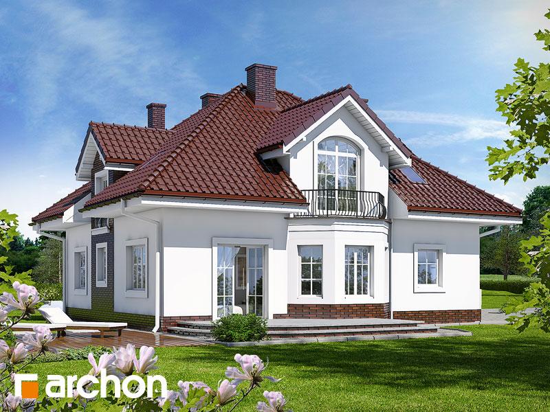 gotowy projekt Dom w tymianku widok 1