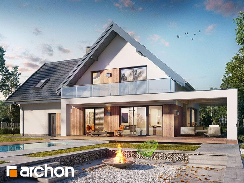 gotowy projekt Dom w amorfach 2 (G2A) widok 1