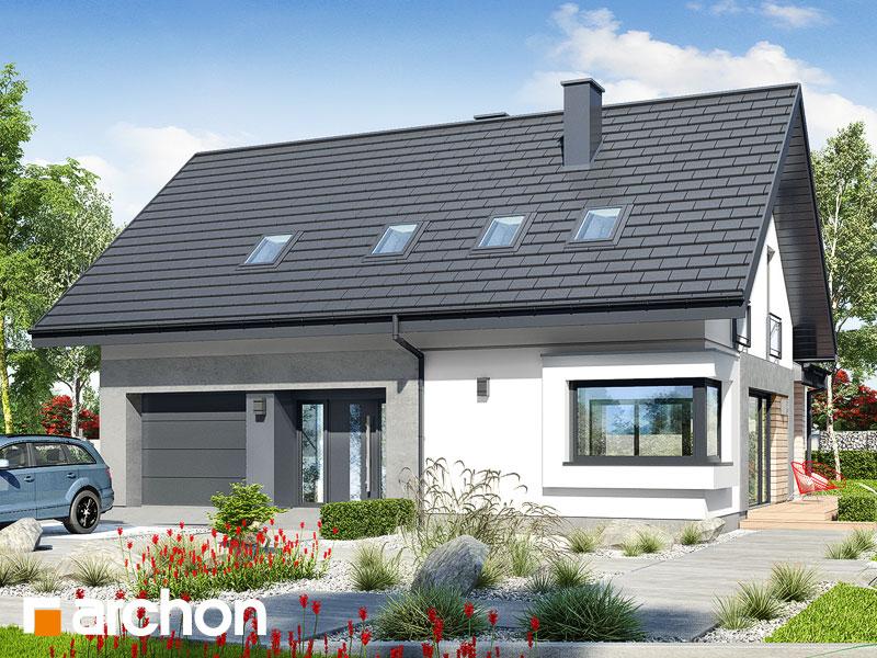 gotowy projekt Dom w malinówkach 9 (G) widok 1
