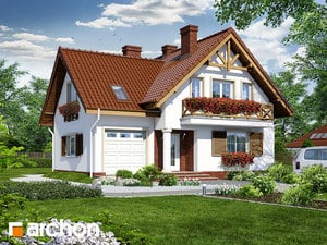 projekt Dom w skalniakach