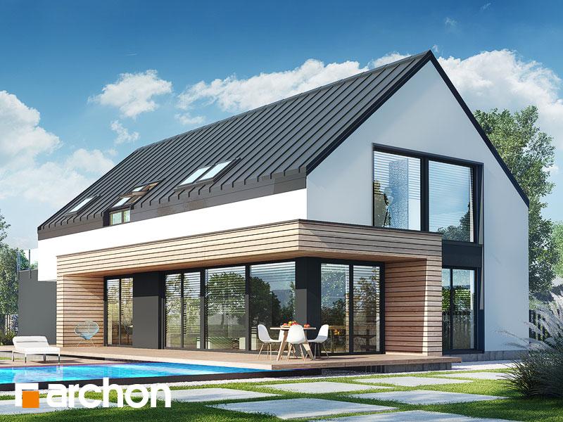 gotowy projekt Dom w agapantach (G2) widok 1
