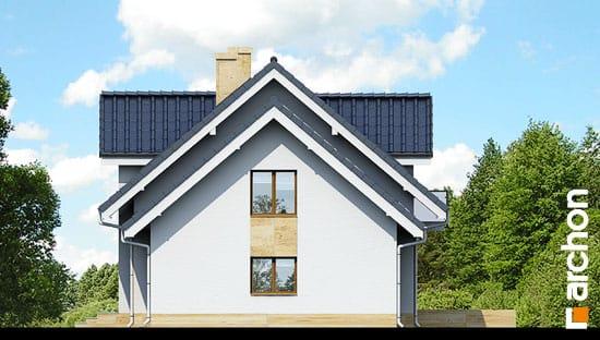 Elewacja boczna projekt dom w rododendronach 6 a ver 2  265