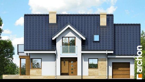 Elewacja frontowa projekt dom w rododendronach 6 a ver 2  264