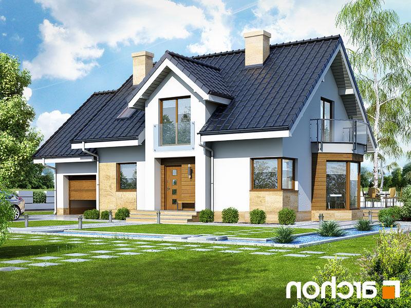 Lustrzane odbicie 1 projekt dom w rododendronach 6 a ver 2  289lo