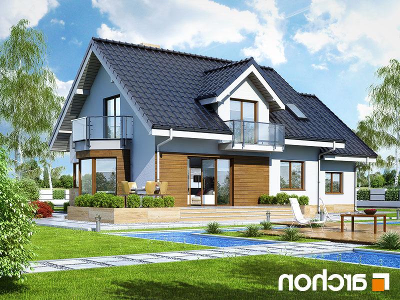 Lustrzane odbicie 2 projekt dom w rododendronach 6 a ver 2  290lo