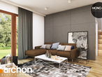 projekt Dom w rododendronach 6 (A) Strefa dzienna (wizualizacja 1 widok 1)