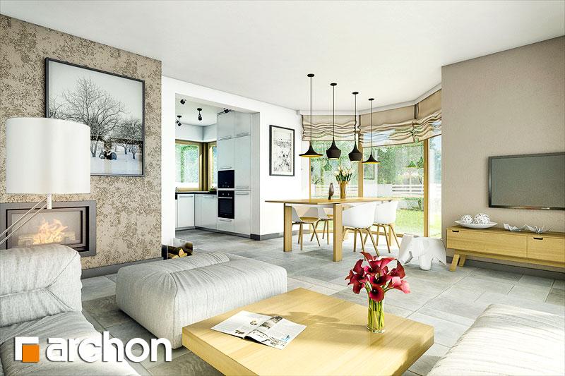 Projekt dom w rododendronach 6 a ver 2  26787