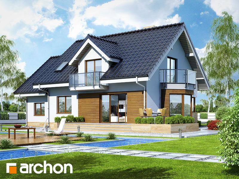 Widok 2 projekt dom w rododendronach 6 a ver 2  290