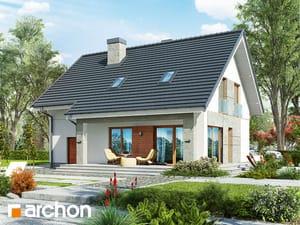 projekt Dom w pięknotkach 2 (P) widok 2