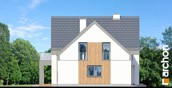 Elewacja boczna projekt dom w orliczkach g2n  265