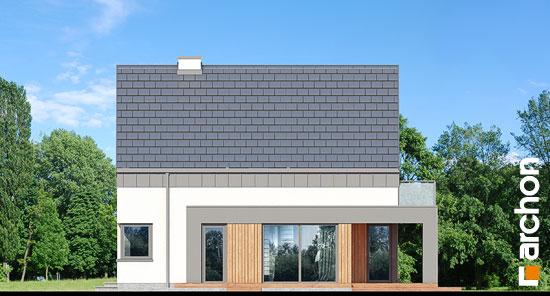 Elewacja boczna projekt dom w orliczkach g2n  266