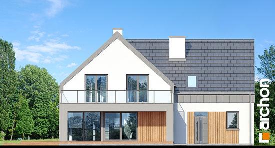 Elewacja ogrodowa projekt dom w orliczkach g2n  267
