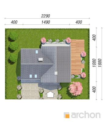 projekt Dom w orliczkach (G2N) sytuacja