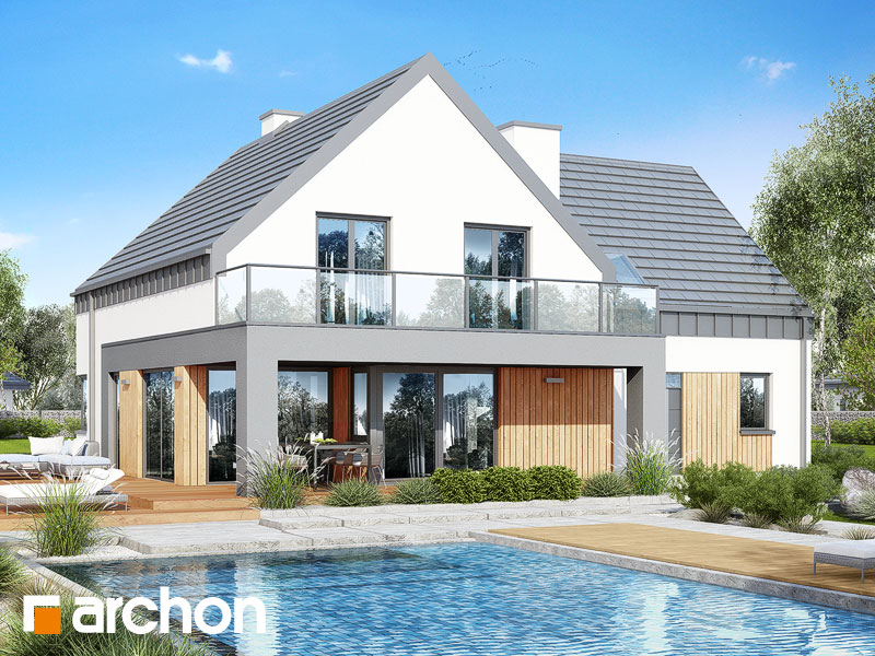 gotowy projekt Dom w orliczkach (G2N) widok 1
