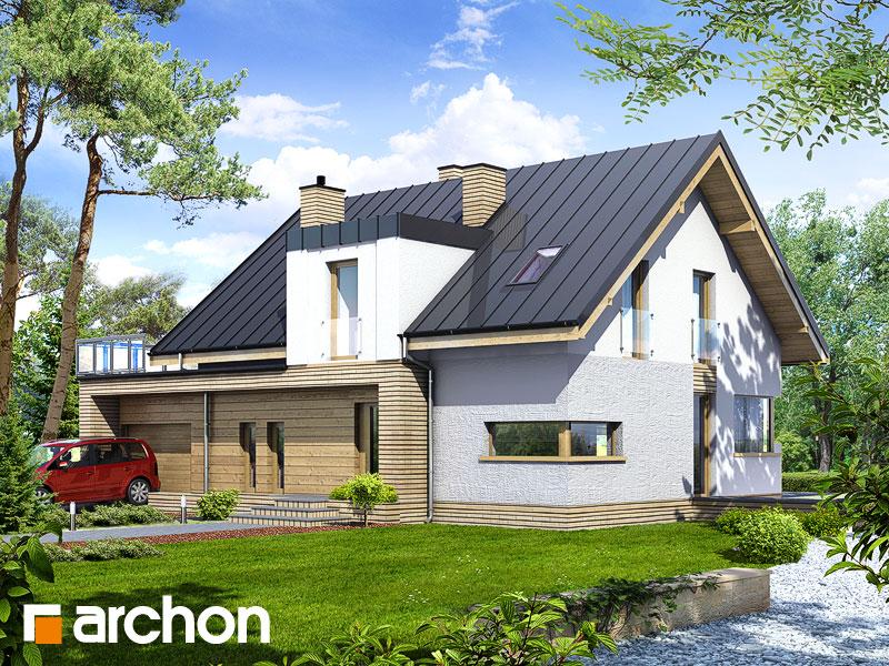 gotowy projekt Dom w truskawkach 2 (N) widok 1