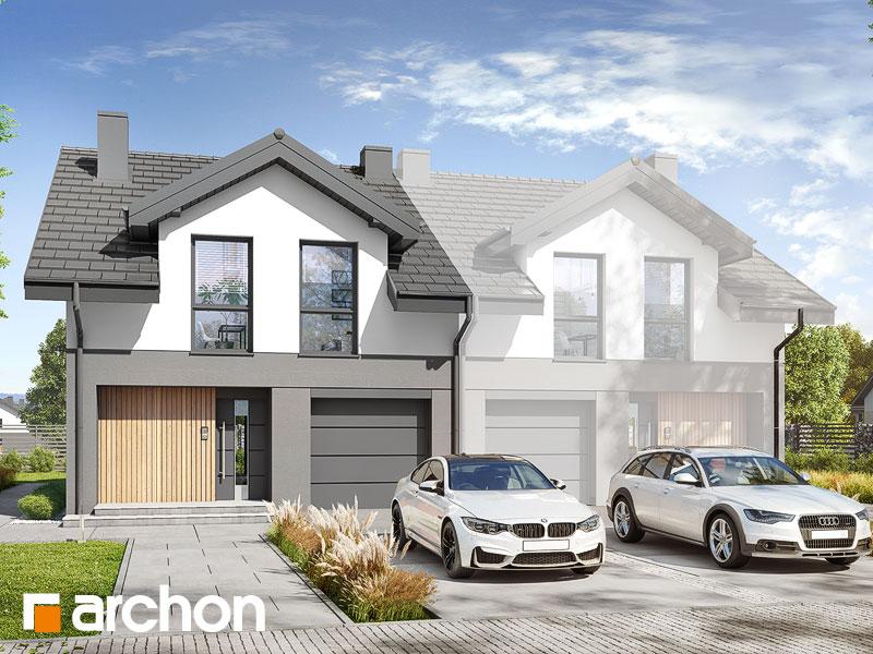 gotowy projekt Dom w kupidynkach (GB) widok 1
