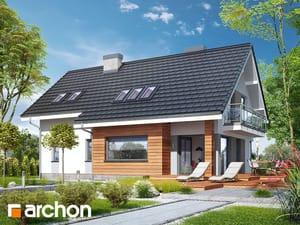 projekt Dom w miodokwiatach 3 (P) widok 2